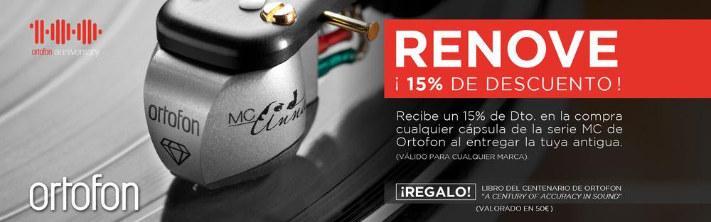 Plan renove Ortofon - prorrogado hasta 31/10/19