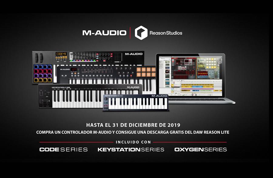 Promo M-Audio - Reason