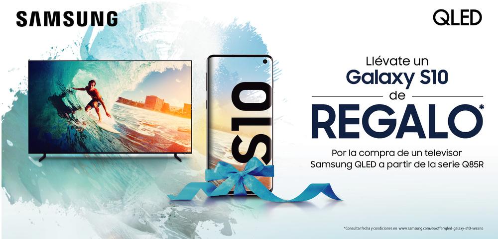 Promo Samsung regalo de un Galaxy S10
