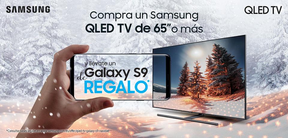 Promoción Samsung TV Navidad 2018