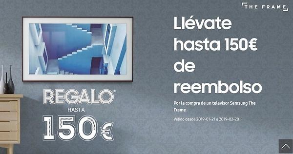 Promoción Samsung The Frame
