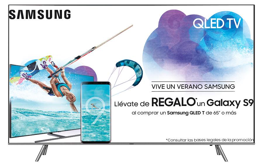 Promoción Samsung regalo Galaxy S9