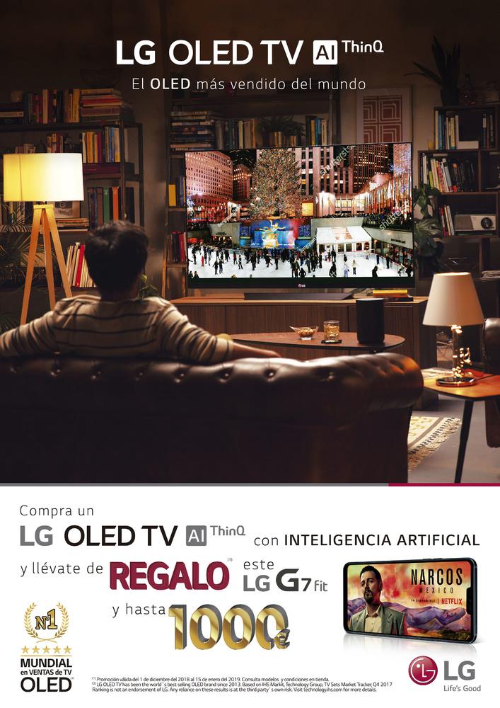 Promoción TV LG Navidad 2018