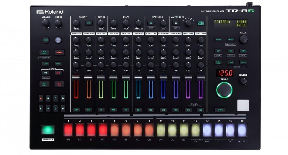 Roland presenta TR-8s