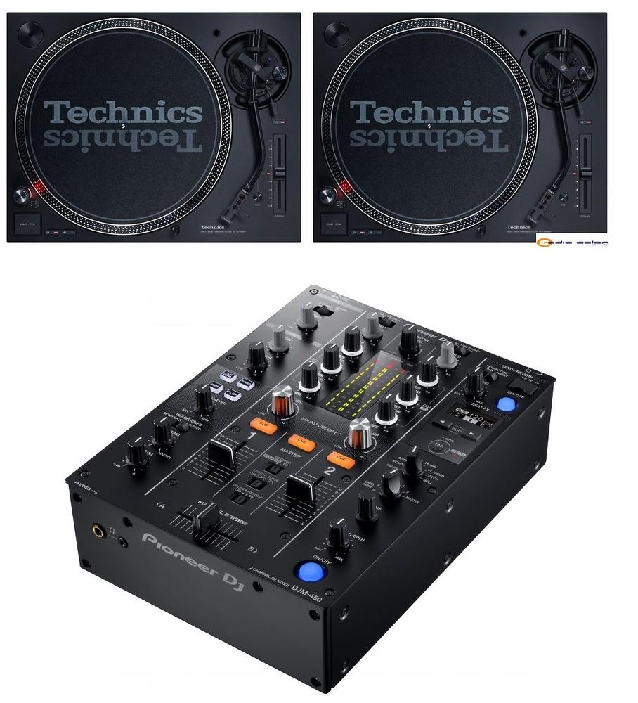 Pack SL1210 mk7 + DJM450