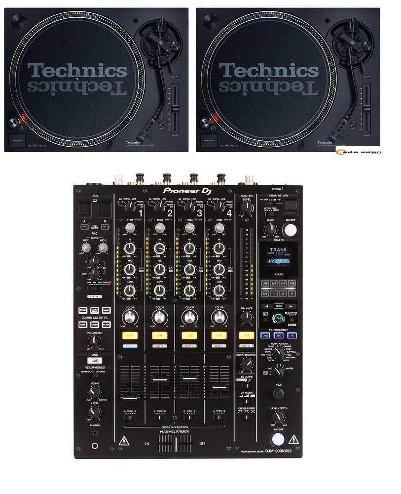 Pack SL1210 mk7 + DJM900 NSX2
