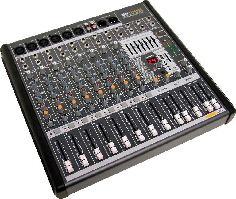 Mezclador AMX 1224 USB