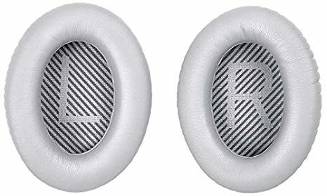 QC35 silver almohadillas