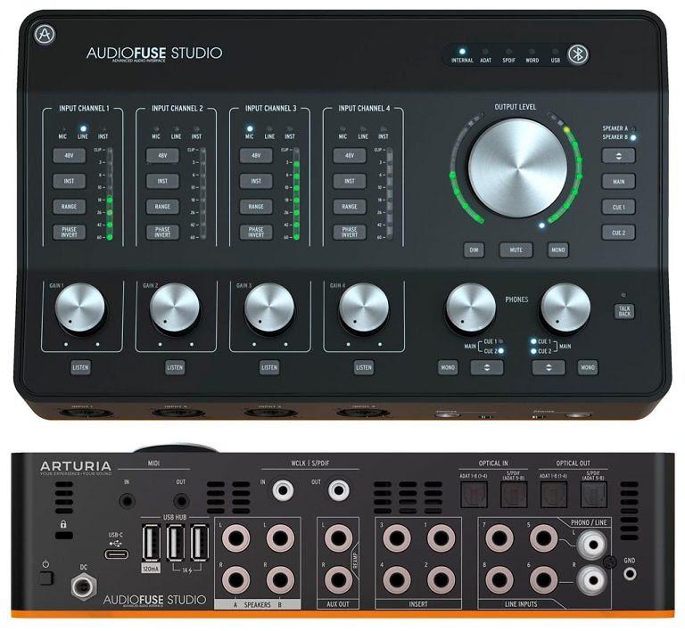 Interfaz Audiofuse Studio