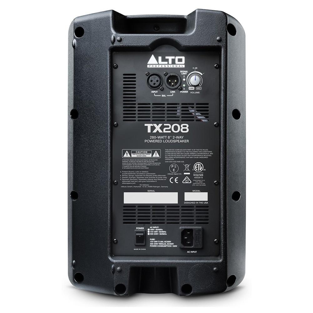 Altavoz ALTO TX208