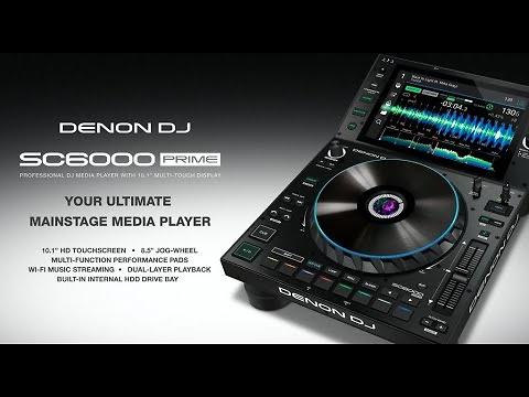 Reproductor multimedia DJ Denon SC6000