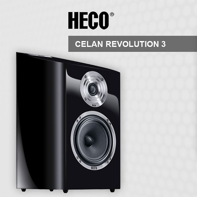 Altavoces Celan Revolution 3