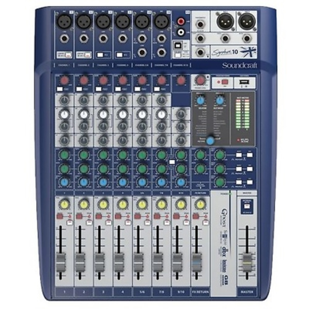 MEZCLADOR SOUNDCRAFT SIGNATURE 10