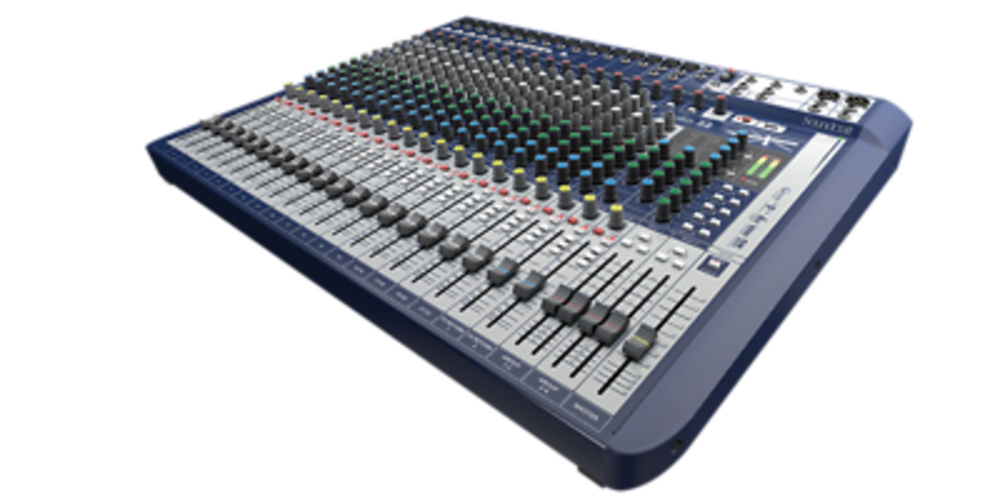 MEZCLADOR SOUNDCRAFT SIGNATURE 22