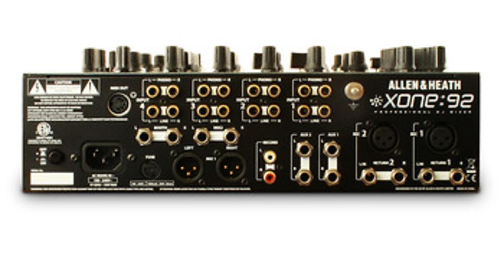 XONE 92 CONECTORES