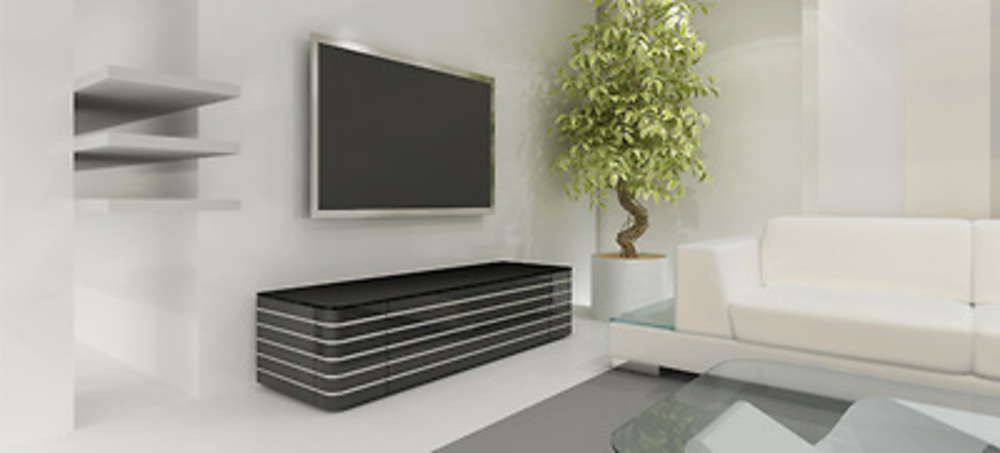 Mueble para tv norstone baho for Meuble tv a suspendre