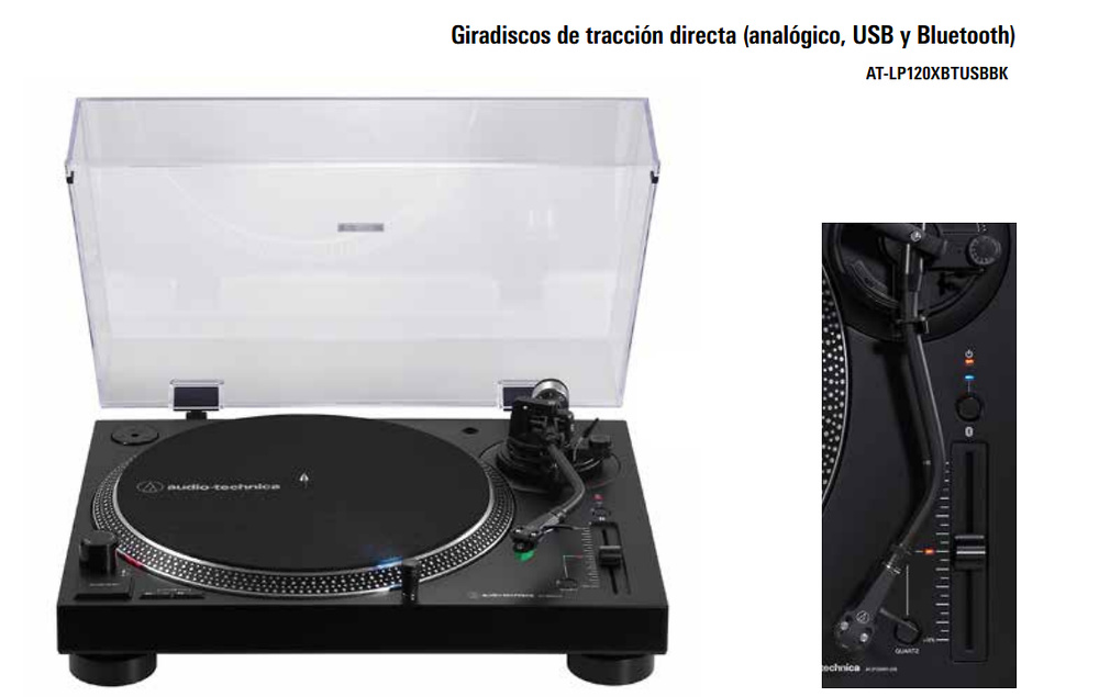 AT-LP120USB NEGRO