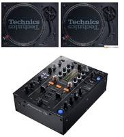 2 Technics SL1200 + Pioneer DJM450