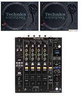 2 Technics SL1210 mk7 + DJM900 NXS2