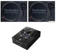2 Technics SL1210 mk7 + Pioneer DJMS3