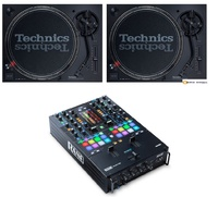 2 Technics SL1210 mk7 + Rane Seventy-Two