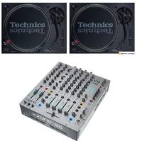 2 Technics SL1210 mk7 + Xone:96