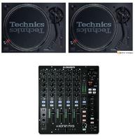 2 Technics SL1210 mk7 + Xone:PX5