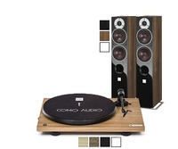 DALI ZENSOR AX 5 + COMO AUDIO BLUETOOTH TURNTABLE