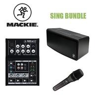 MACKIE SING BUNDLE: MIX5 + EM-89D + FREEPLAYGO
