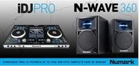 NUMARK IDJ PRO + ALTAVOCES NWAVE360
