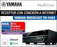 RECEPTOR AV YAMAHA RXV483